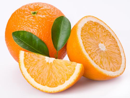L'orange en photo